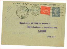 6460 FRANCIA FRANCAISE INTERO POSTALE 40C+50C STAMPA PRIVATA 1930 - Storia Postale