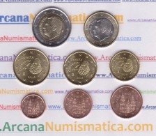 SPAIN / SPANJE  Set/Juego/Tira  8 Monedas/Coins €URO 2.016   2016  SC/UNCirculated  T-DL-11.747 - Spanje