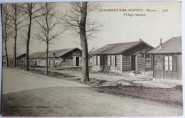 CPA 51 Jonchery Sur Suippes Suippe Village Baraqué - France