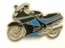 PIN´S KAWASAKI ZZR - NOIRE / BLEU - Motorbikes