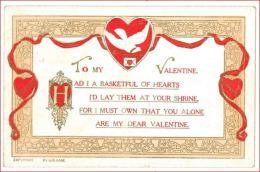 6497 AUGURALI SAN VALENTINO 1923 VIAGGIATA A RILIEVO PRIMI '900 - San Valentino