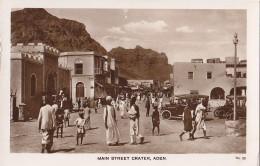 Yémen - Aden - Main Street Crater - Yémen