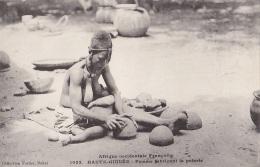 Afrique - Guinée - AOF -  Femme Et Son Bébé - Coiffure - Poterie - Guinea Francesa