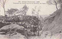 Afrique - Guinée AOF - Travaux Construction Chemin De Fer Konakry Niger - Guinea Francesa