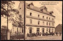 "MEIGEMHEIDE - ALSEMBERG - Pension De Famille "" AU REPOS DES CHASSEURS "" Andere Editie !! - Beersel"