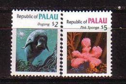 Palau - Sea Fauna & Flora 1984 MNH - Palau