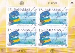 Bahamas Nº 1213 Al 1216 En Hojas De 4 Series - Bahama's (1973-...)