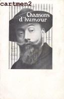 VINCENT HYSPA CHANSONS D'HUMOUR ARTISTE CHANSONNIER 1900 - Cantanti E Musicisti