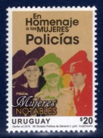 2016 Series URUGUAY Tribute Fo Policewoman, Uniforms, Jobs - Uruguay