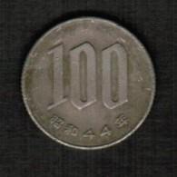 JAPAN   100 YEN 1969 (SHOWA 44) (Y # 82) - Japan
