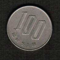 JAPAN   100 YEN 1976 (SHOWA 51) (Y # 82) - Japan