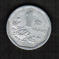 CHINA   1 JIAO 1997 (Y # 328) - China