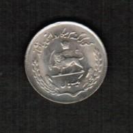 IRAN   1  RIAL 1974 (KM # 1183) - Iran