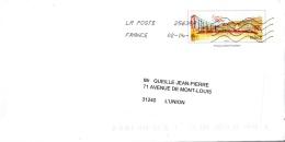 PAP Lyon Rhone - Circulé - Entiers Postaux
