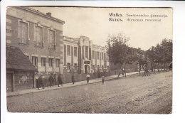 LATVIA ESTONIA WALK VALKA VALGA REAL PHOTO 1 - Postcards