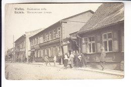 LATVIA ESTONIA WALK VALKA VALGA REAL PHOTO 2 - Postcards