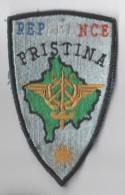 ECUSSON TISSU Brodé REPFRANCE PRISTINA - Ecussons Tissu