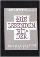 Die Lebenden  Bilder   AUS DER PASSION   1960 OBERAMMERGAU - Livres, BD, Revues