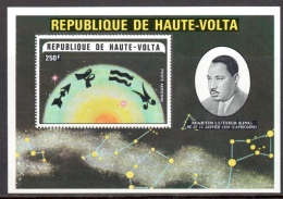 Hte Volta BF 5R ** Martin Luther King Zodiaque Sagittaire Capricorne Verseau Poissons - Haute-Volta (1958-1984)