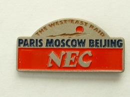 PIN´S PARIS MOSCOU PEKIN - NEC - Rallye