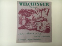 745 -  Suisse Schaffhouse Wilchinger Beerliwein - Etiquettes