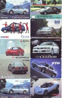 LOT De 10 Télécartes Japon * VOITURE * CAR  (LOT 15) Japan Phonecards * AUTO * WAGEN TELEFONKARTEN - Auto's