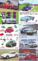LOT De 10 Télécartes Japon * VOITURE * CAR  (LOT 18) Japan Phonecards * AUTO * WAGEN TELEFONKARTEN - Cars