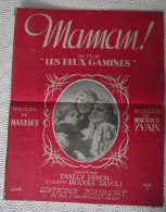 Partition: Maman! Du Film Les Deux Gamines, éditions Joubert - Compositeurs De Musique De Film