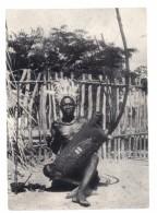 Congo – Popolazione Ekonda Musicista - Kinshasa - Leopoldville