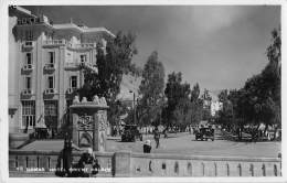 "05557 ""SIRIA - DAMASCO - DAMAS - HOTEL ORIENT PALACE"" ANIMATA - AUTO ANNI '30. CART. POST. ORIG. NON SPEDITA. - Syrie"