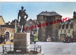 48 - MARVEJOLS - STATUE HENRI IV  PORTE SOUBEYRAN - Marvejols