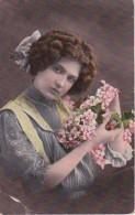 AK Frau Mit Blumen - 1910 (23136) - Women