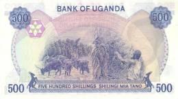 UGANDA P. 22a 500 S 1983 UNC - Ouganda