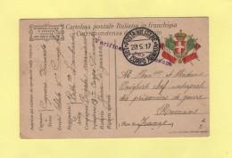 Poste Militaire - 13e Corpo Armata - 1917 - Zonder Classificatie