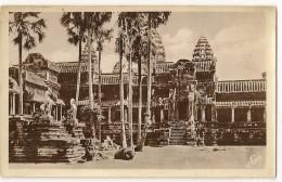 S4867 - Angkor Vath  - Un Coin Du Perron Crucial - Cambodge