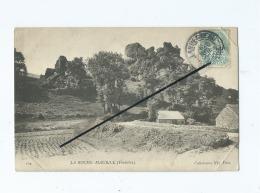 CPA   Abîmée   -  La Roche Maurice - La Roche-Maurice