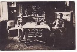 Carte Postale Photo Militaire Allemand De DORTMUND (Allemagne) Cuisiniers Des Officiers Dans La Ruhr En 1923 - Dortmund