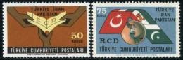 TURKEY 1965 (**) - Mi. 1953-54, 1st Ann.of Regional Coop.of Development (RCD) - Ungebraucht