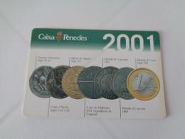 Bank/Banque/Banco Caixa Penedès Spanish  Pocket Calendar 2009 - Calendarios