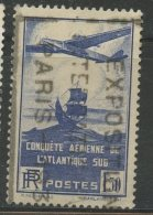 France 1936 1.50fr Airplane And Galleon Issue #C16 - Airmail