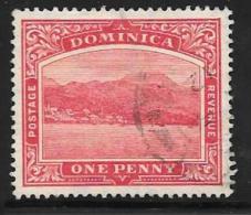 Dominica, Scott # 51 Used Roseau, 1908 - Dominica (...-1978)