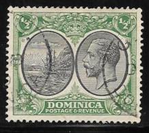 Dominica, Scott # 65 Used Colony Seal, King, 1923 - Dominica (...-1978)