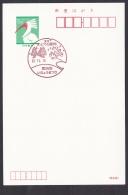 Japan Commemorative Postmark, Persimmon Monkey Dragonfly Ginkgo (jc9018) - Japan
