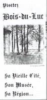 Mine Charbonnage Dépliant Sur Bois-du-Luc (La Louvière) Vieille Cité, Musée, Région (vers 1995) - Toerisme