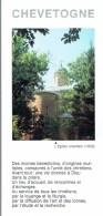 Dépliant Sur Chevetogne Et Son église Orientale (Historique, Vie Du Monastère) - Toerisme