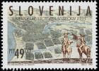 Slovenia 1993 -  400. Anniversary Of Sisak Battle, (49 SIT)  MNH Michel 59 - Slovenia