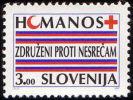 Slovenia 1992 - Red Cross - Humanity (3 SIT)  MNH Michel Z1 - Slovenia