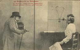 La Demoiselle Du Téléphone - Homme Avec Canne Et Chapeau - Standardiste - Fantaisies