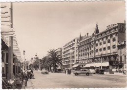 Nice: OPEL KAPITÄN '38, DODGE / PLYMOUTH '46 ? - L'Hotel Royal, Promenade Des Anglais - PKW
