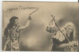 BERGERET  J'apporte L'espérance (nouvel An 1915) - New Year